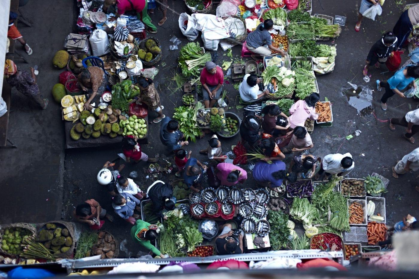 2013 in Bali – Markt