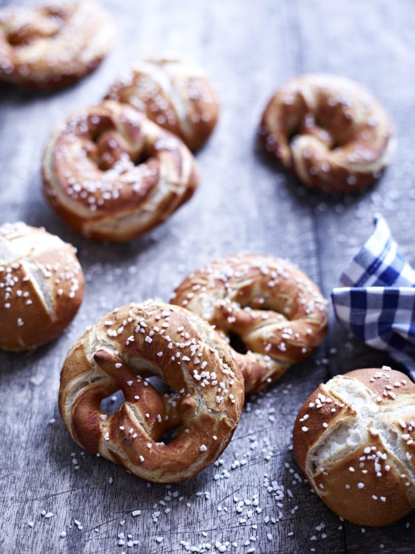 Brot geniessen Laugengebäck
