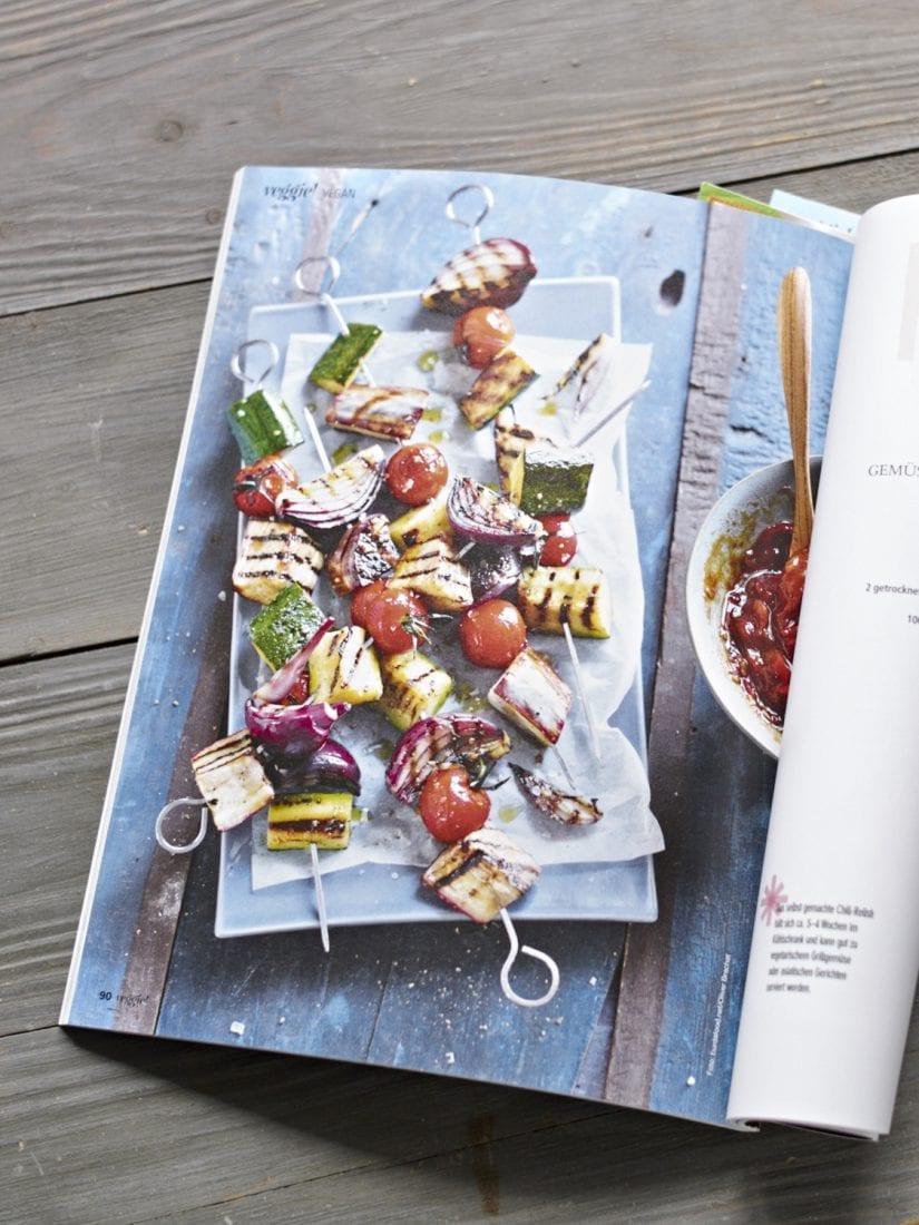 Slowly Veggie – Das neue Veggie Grillen – Magazin