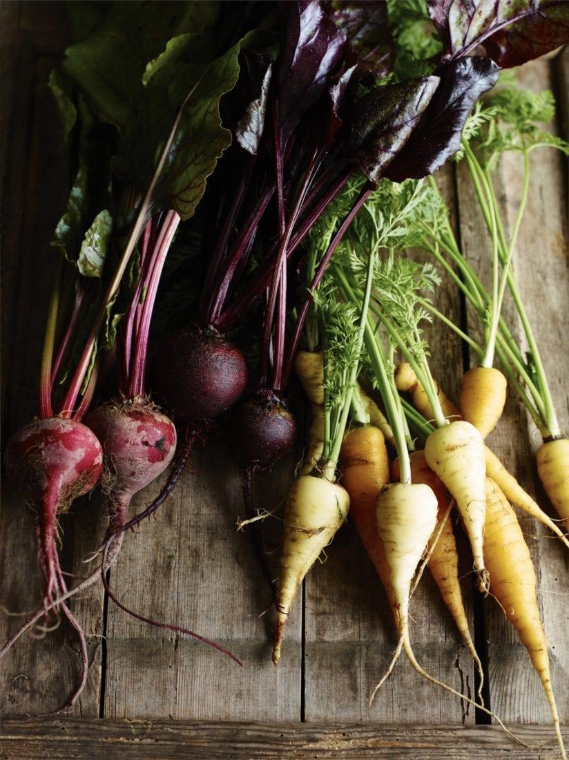 Slowly Veggie – Wohlfuehlkueche Moehren und Beete