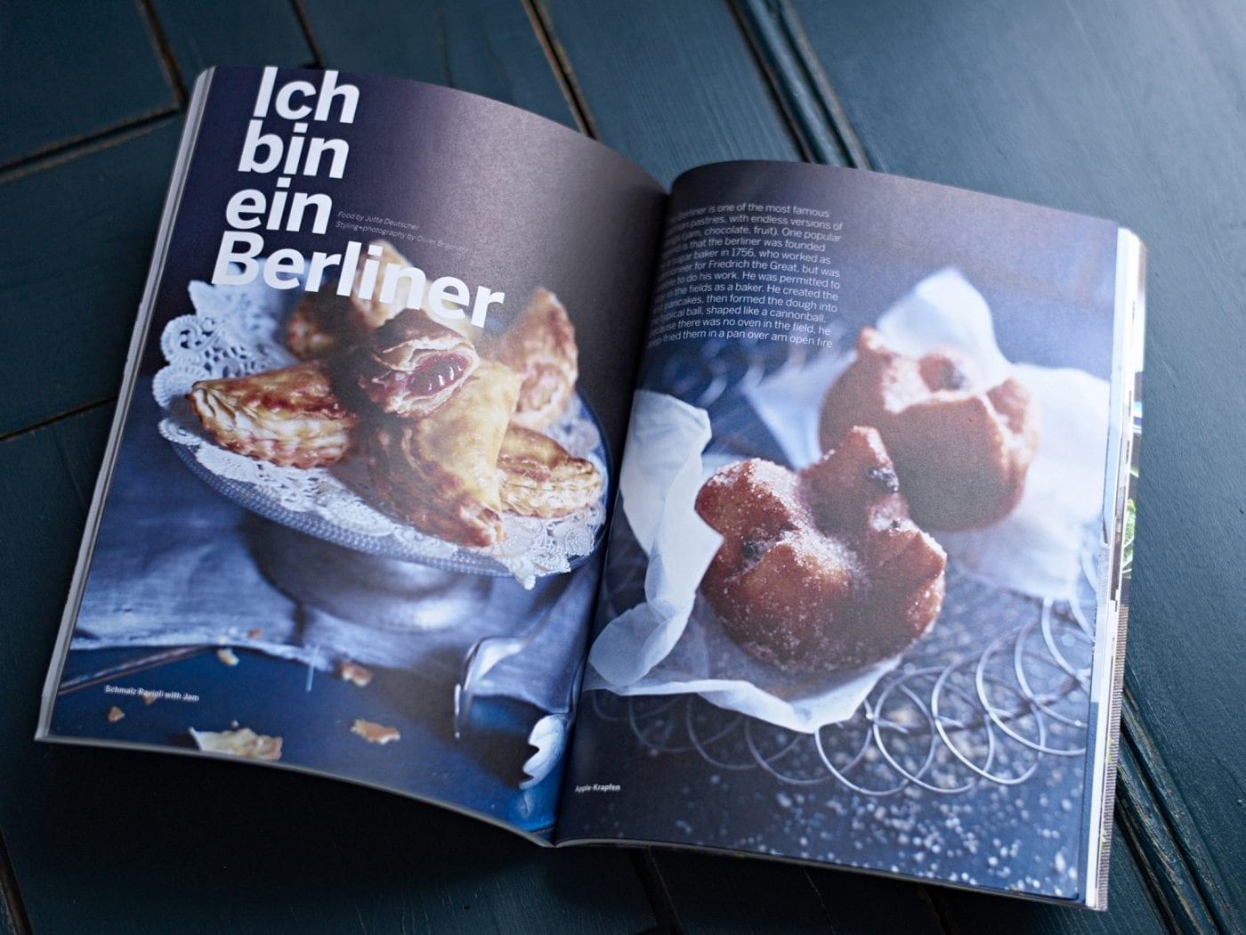 Sweet Paul Magazine Spring 2015 – Innenseite – Ich bin ein Berliner