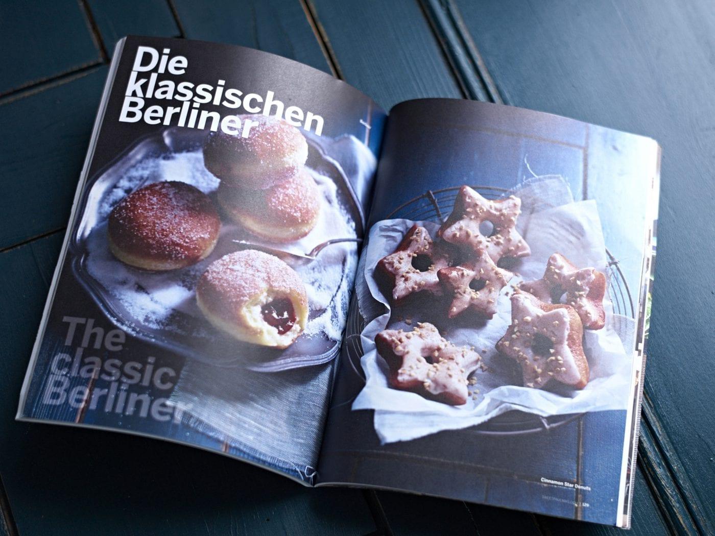 Sweet Paul Magazine Spring 2015 – Innenseite Die klassischen Berliner