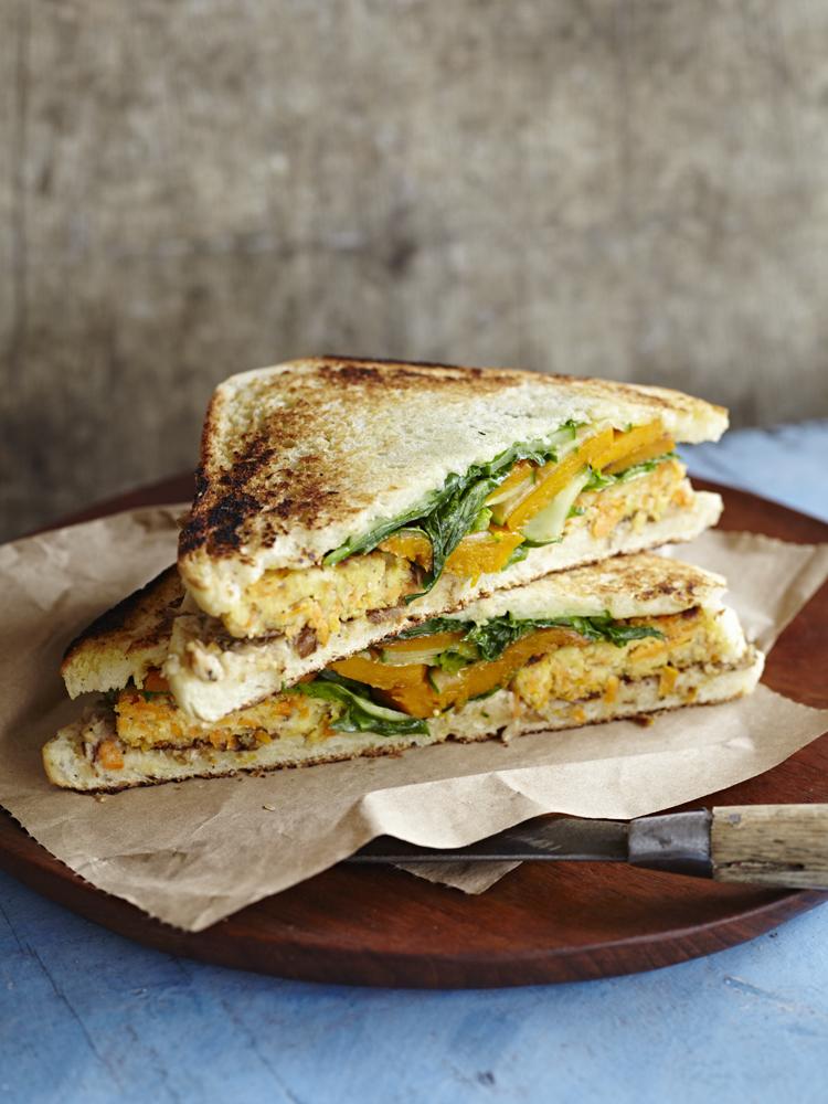 Surdham Goeb – Vegane Superfoods – Tramezzini Sandwich