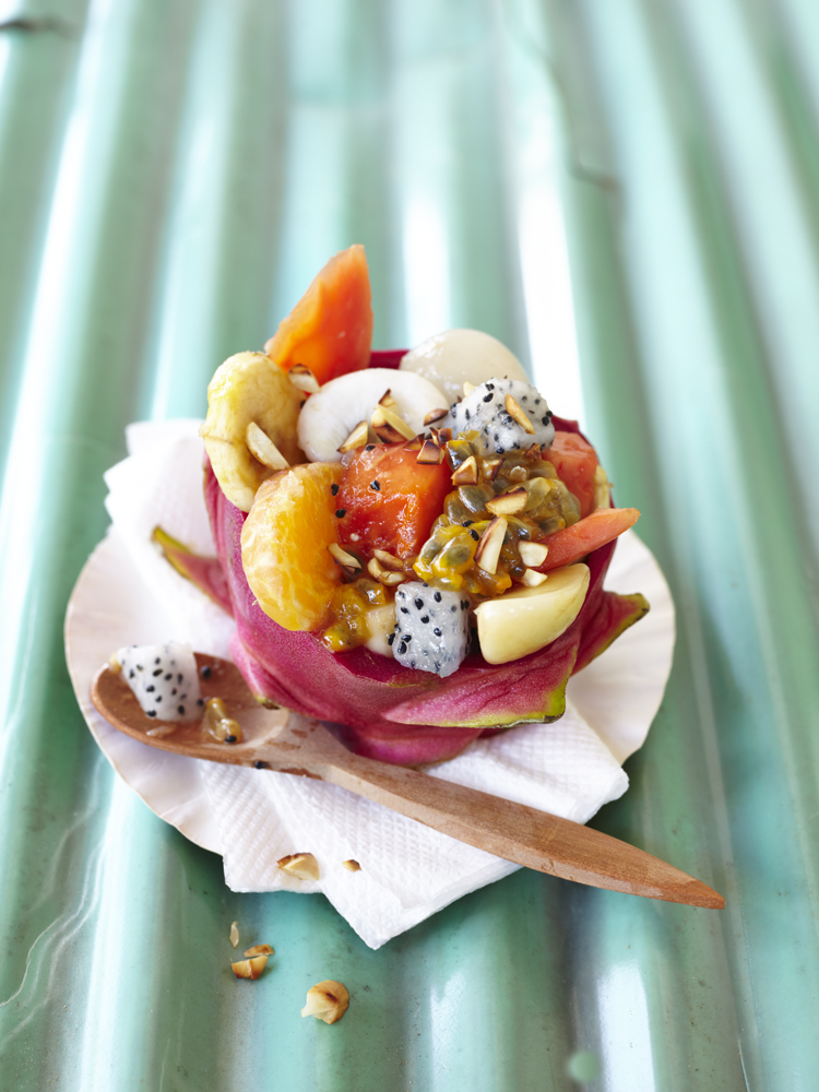 Surdham Goeb – Vegane Superfoods – Tropical Fruit Salad