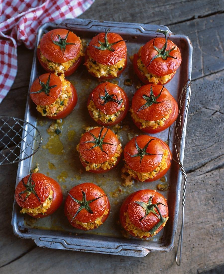 Meine Familie und ich–gefuellte Tomaten