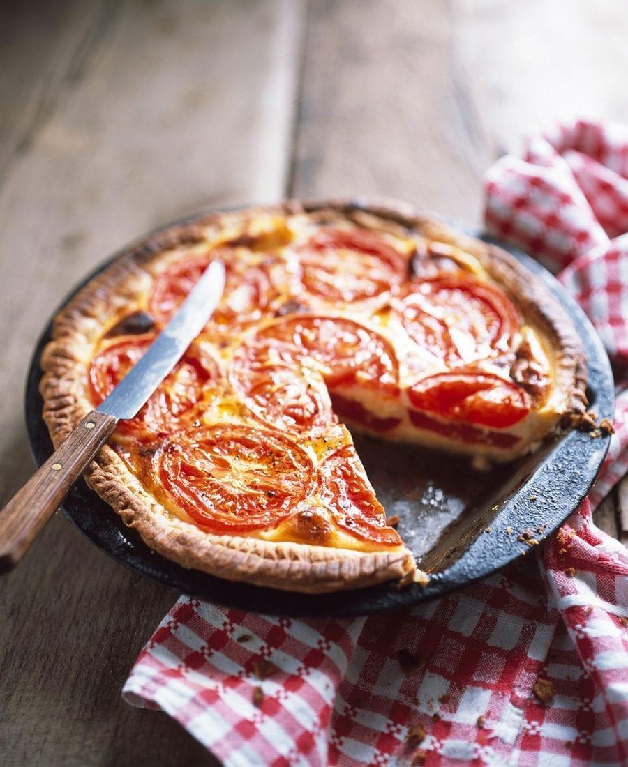 Meine Familie und ich–Tomatenquiche