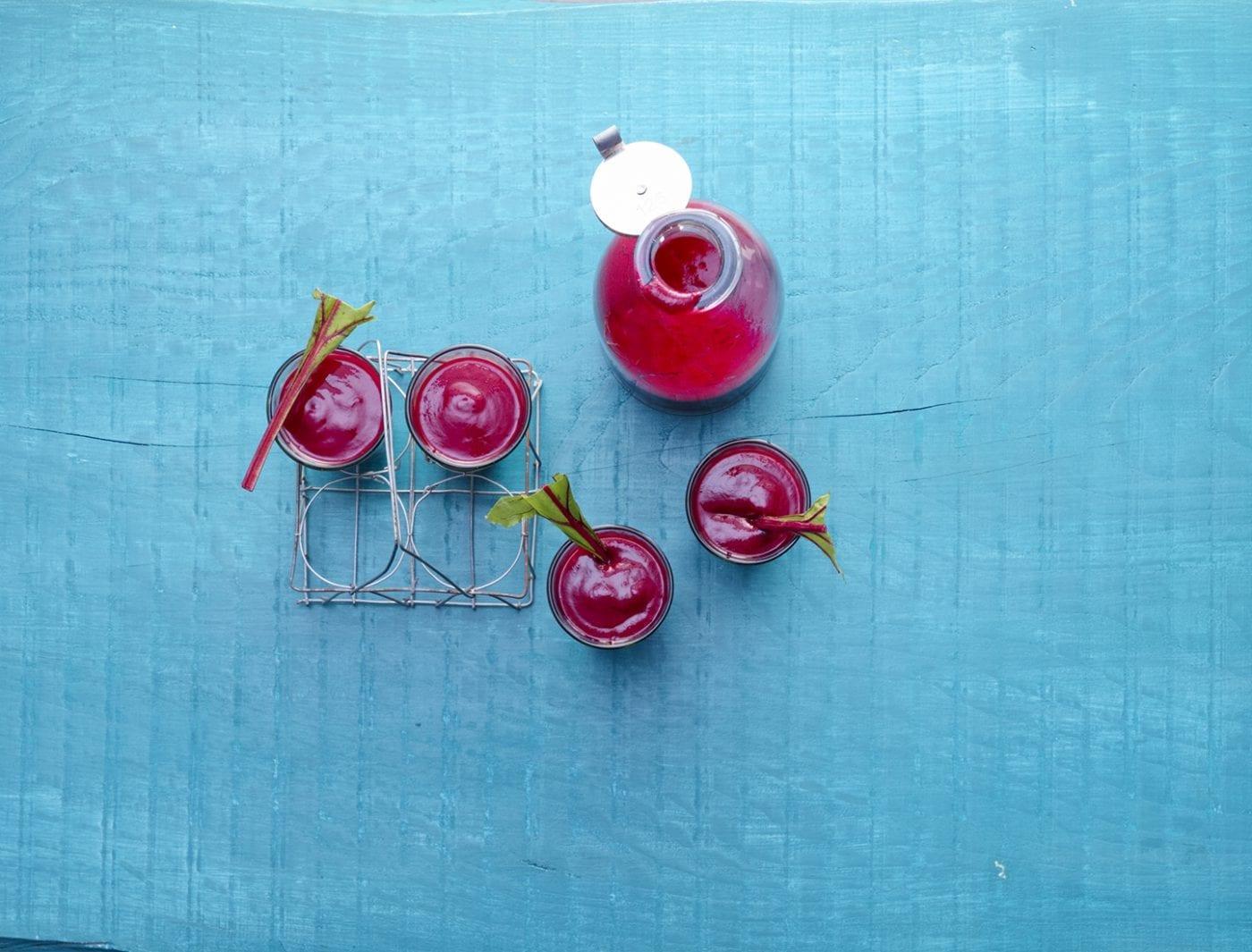 Ordentlich Grillen Rote Beete Himbeer Smoothie