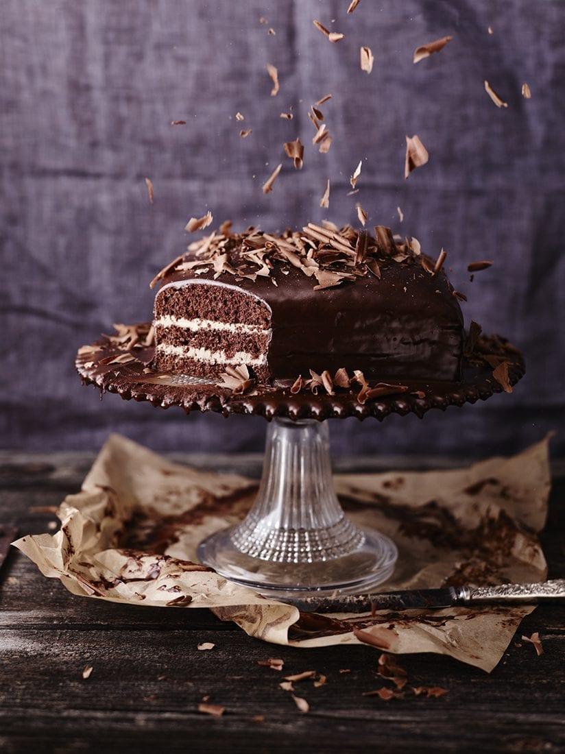 Meine feine Chocolaterie Schokoladencremetorte mit Biskuit